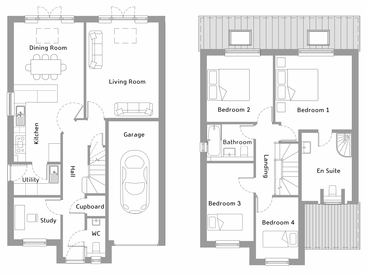 Sitemap for Plot 4 Copperfield Mews